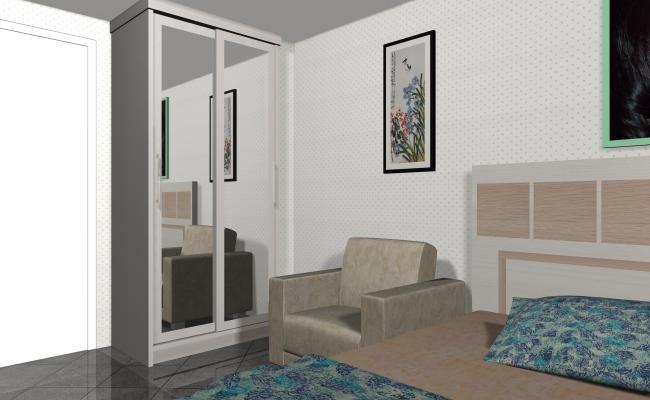 Contoh Desain Project Interior Furniture Apartemen