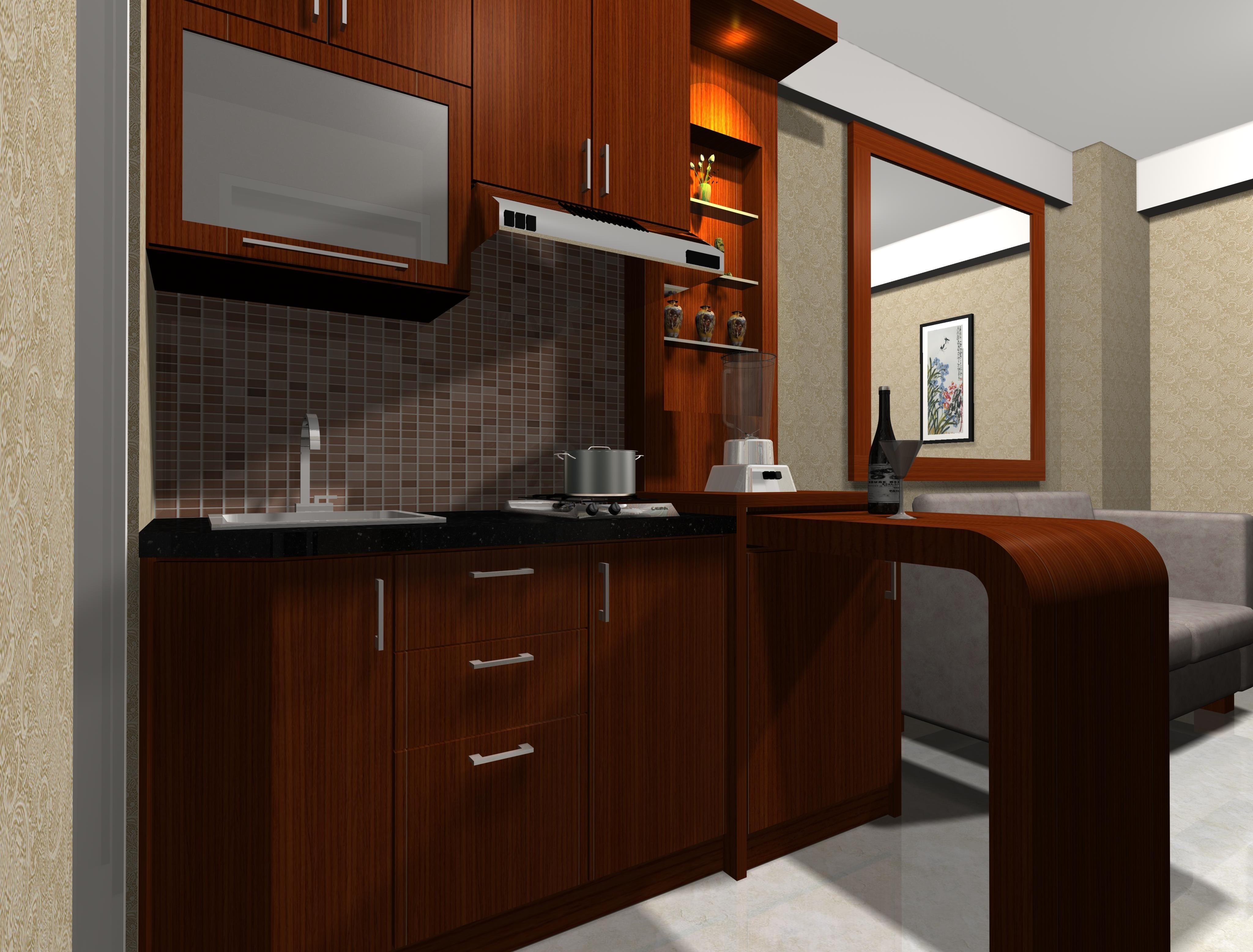 Contoh Desain project Interior Apartemen Green Bay Pluit