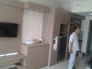 Project Interior Apartemen Depok Park View Type Studio
