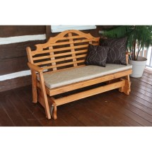 5' Painted Stained Marlboro Glider Bench - Furniture