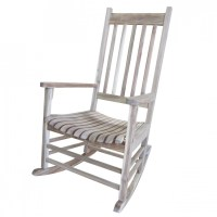 Solid Acacia Porch Rocker