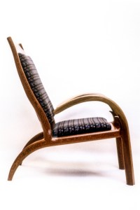 Tulip Bent Wood Chair