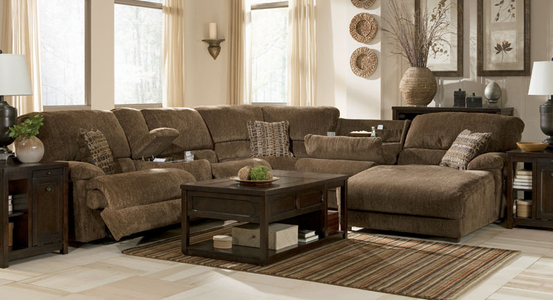 How To Arrange the Pivot Point  Truffle Sectional by Ashley Furniture