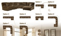 How To Arrange the Pivot Point  Truffle Sectional by ...
