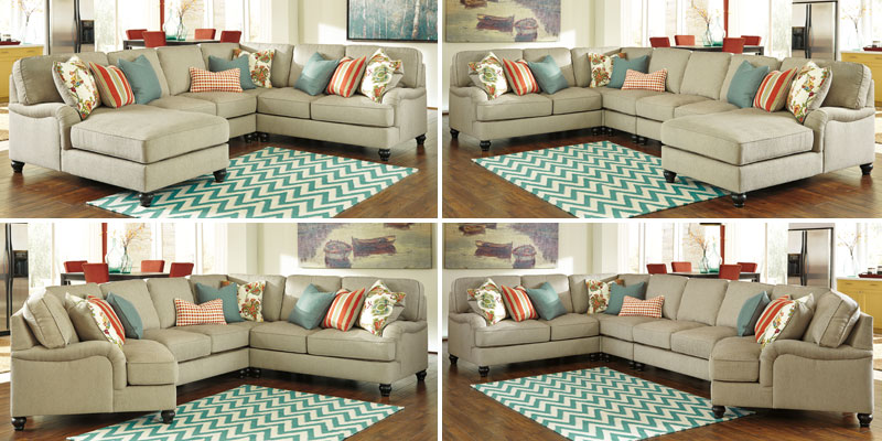 How To Configure the Kerridon  Putty Sectional by