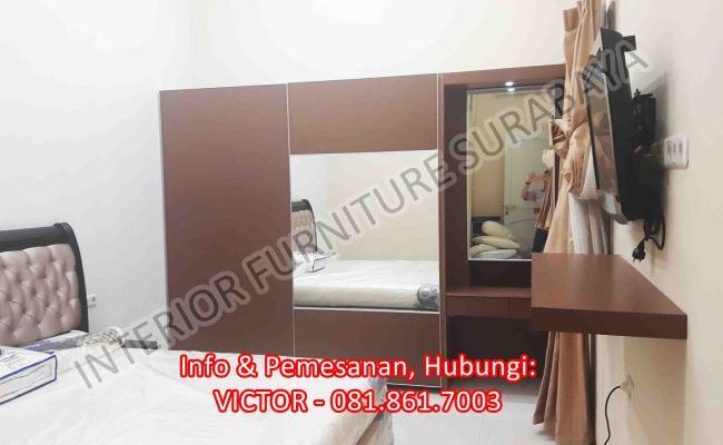 Interior Untuk Apartemen 2 Bedroom Surabaya 081 861 7003