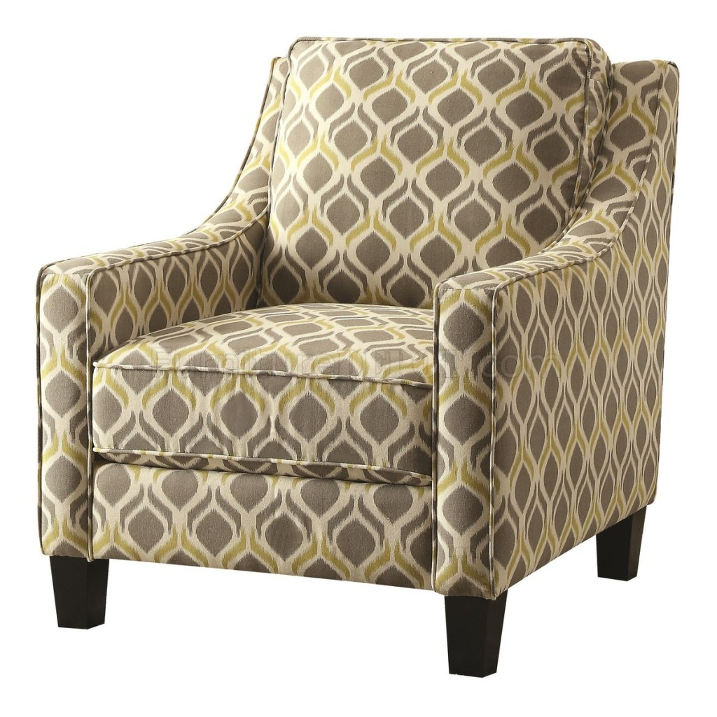 Set Of Accent Chairs 902428 Accent Chair Set Of 2 In Linen Like Fabric By Coaster