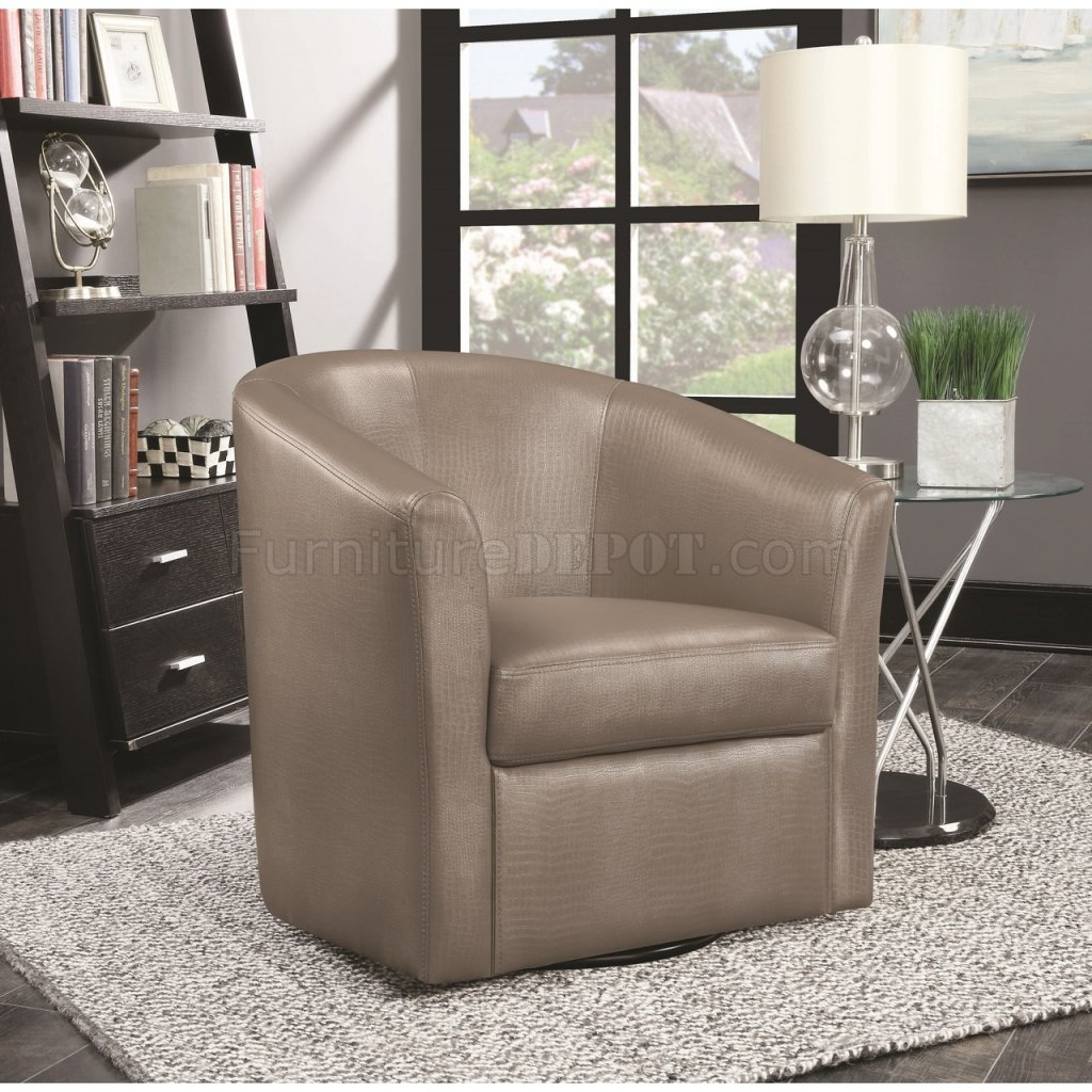 Set Of Accent Chairs 902726 Accent Chair Set Of 2 In Champagne Leatherette By