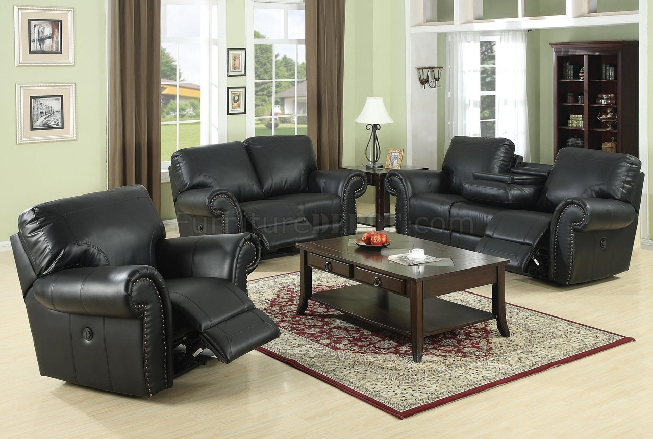 Black Living Room Chair Reclining Living Room L189m Black