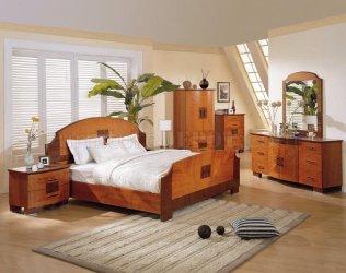 bedroom cherry gloss medium finish modern