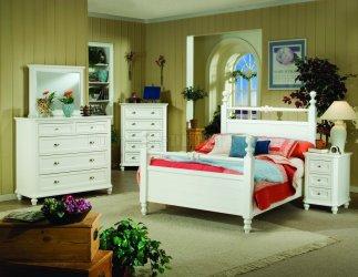 cottage bedroom casual 5pc furnituredepot furniture