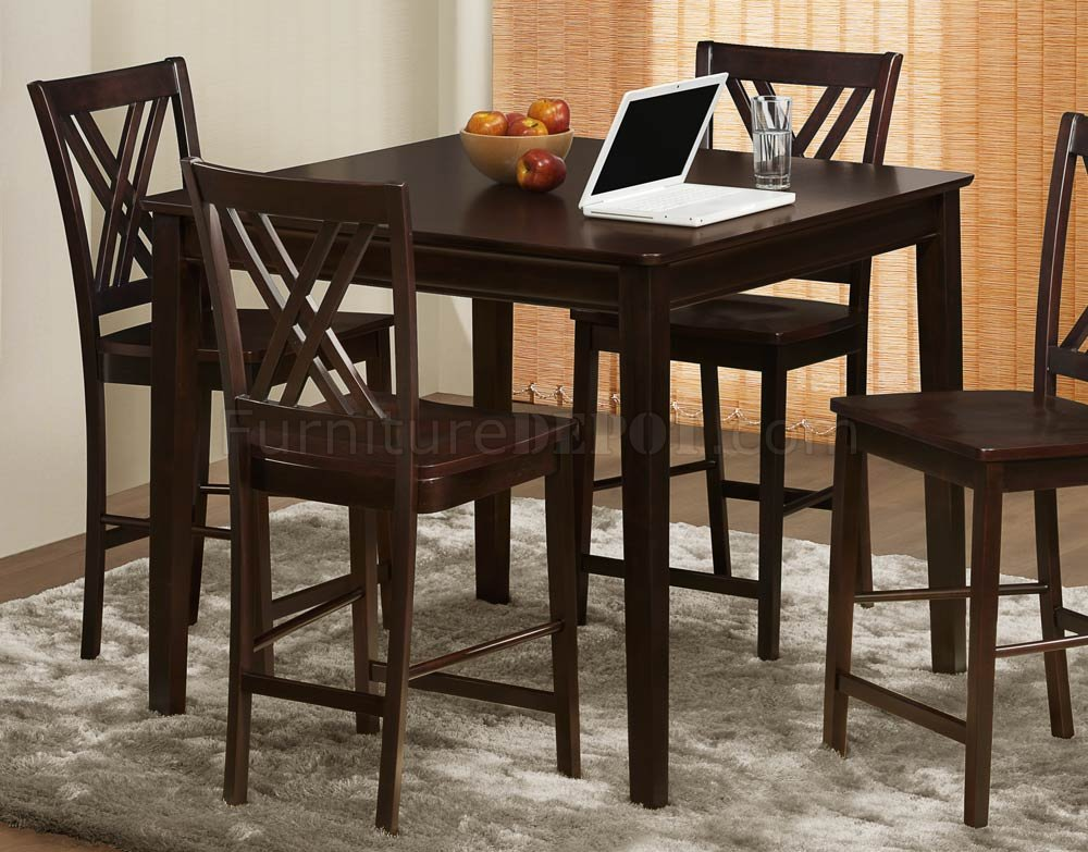 2436-36 Hodges Counter Height Dining Table By Homelegance
