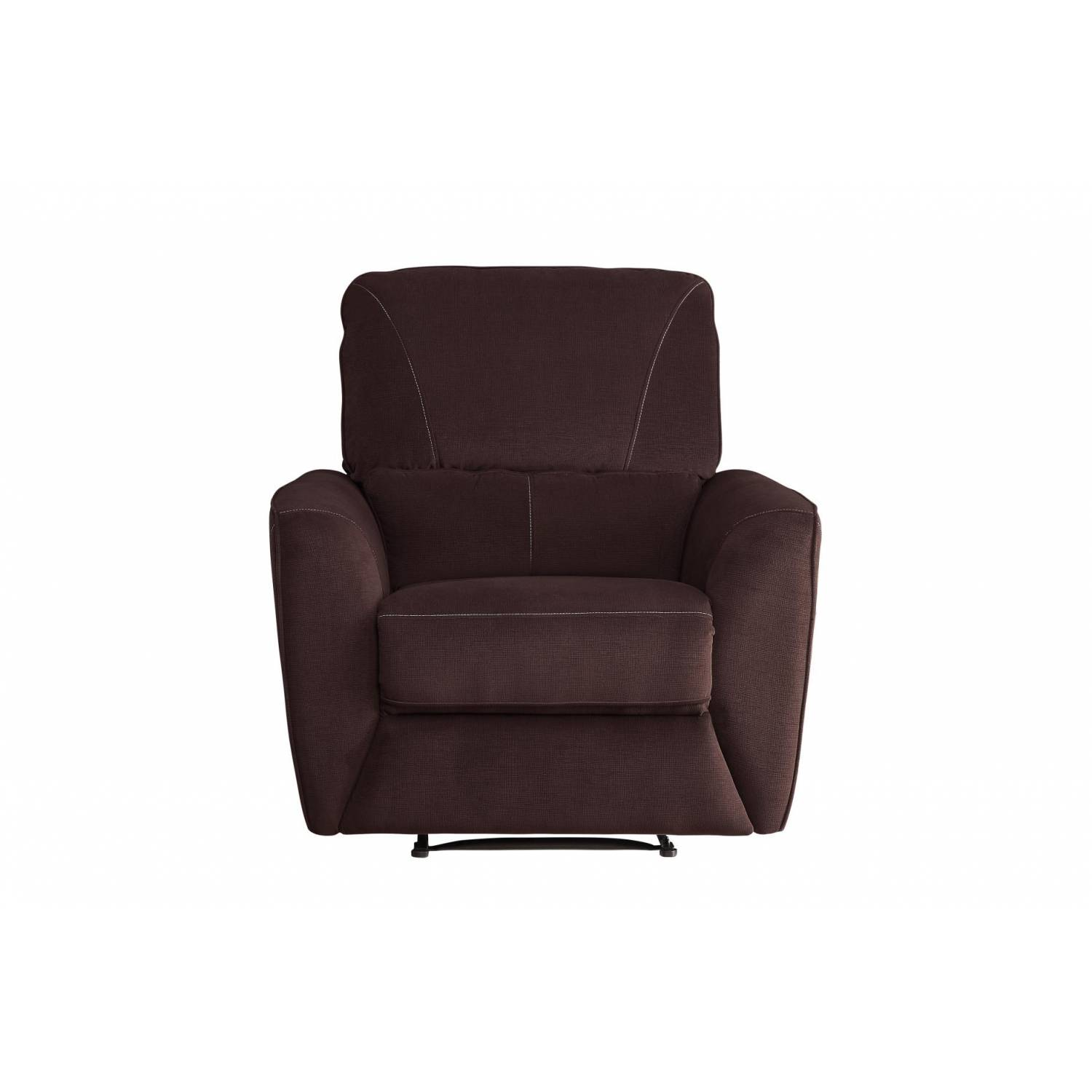 Double Recliner Chair 8257brw Dowling Double Reclining Chair