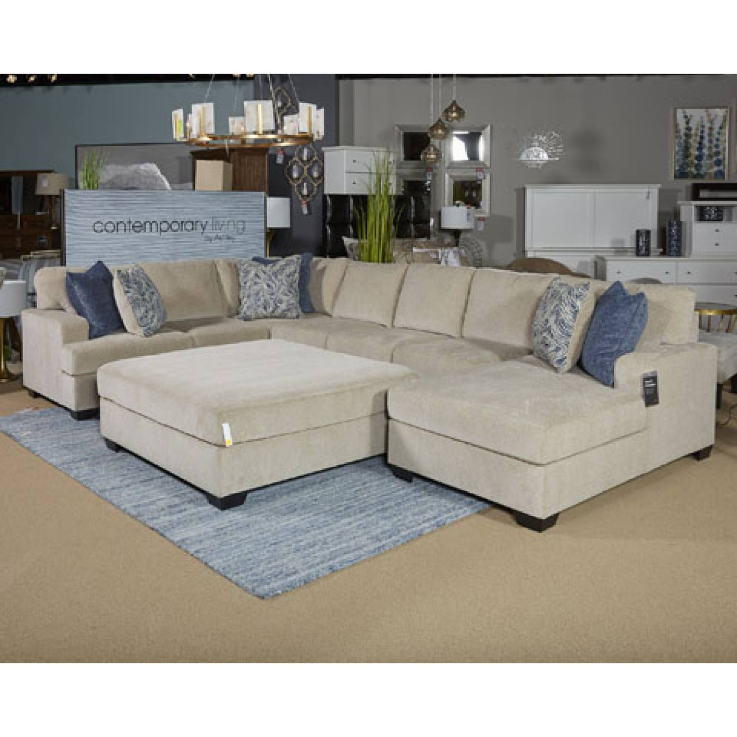sectional sofa for sale small with removable covers 61500 enola oversized accent ottoman