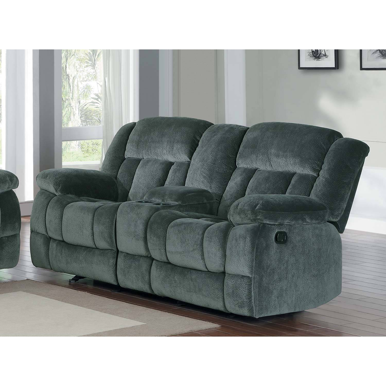 ryker reclining sofa and loveseat 2 piece set warehouse toronto 2pc laurelton charcoal textured