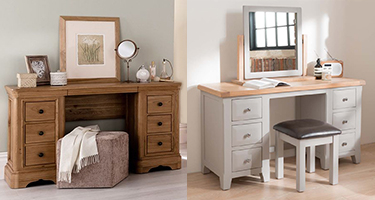 Dressing Tables Dressing Table Set Wooden Oak Dresser Furniture Sale