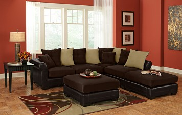 Living Room Sectional Sofa  The RoomPlace