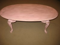 pink coffee table | Ladybird's Vintage
