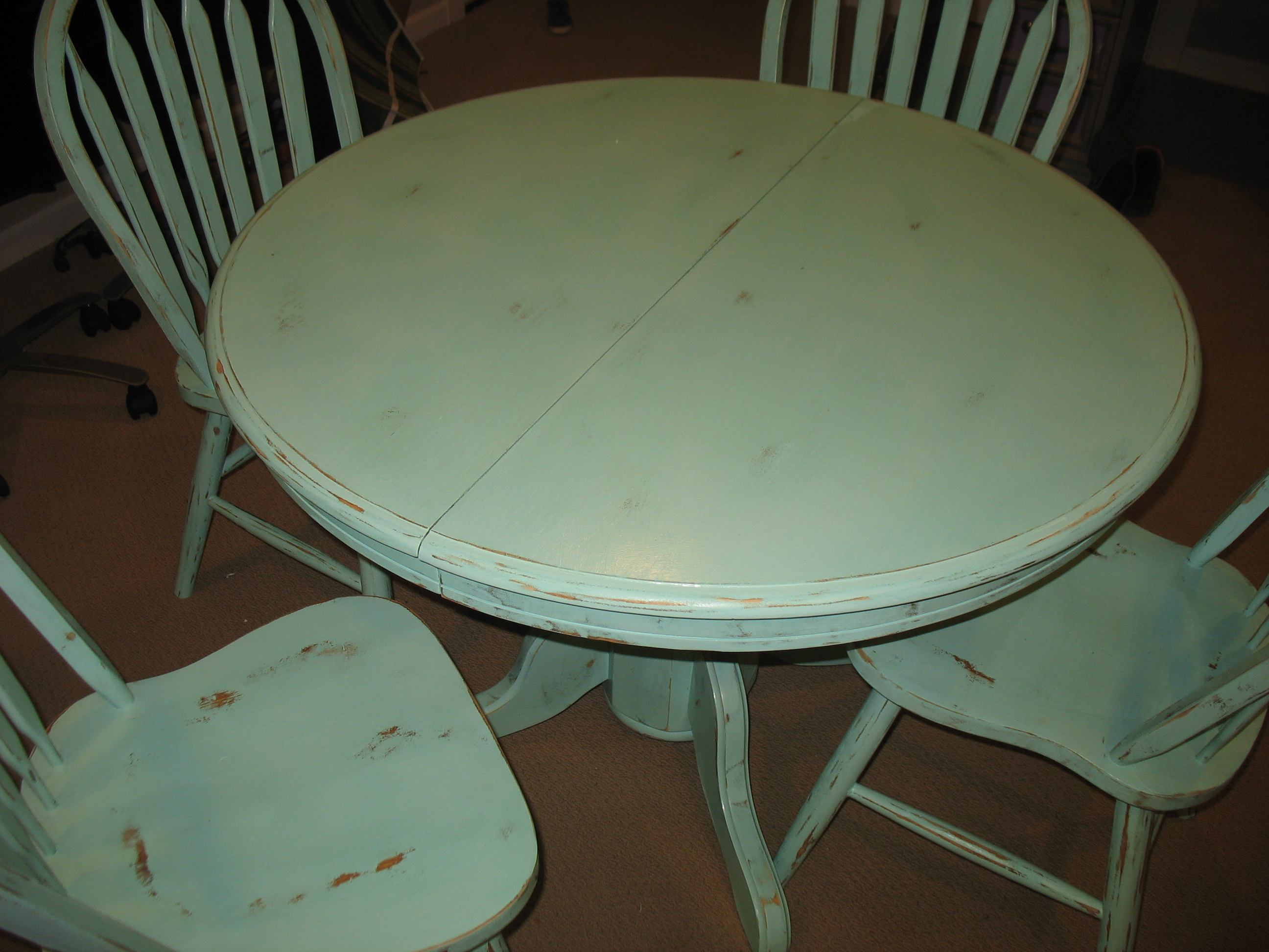 shabby chic dining table  Ladybirds Vintage