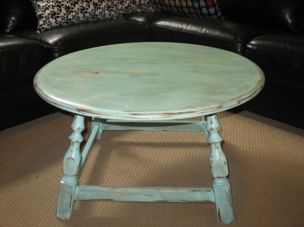 Blue Coffee Table 50 Sold Ladybird' Vintage