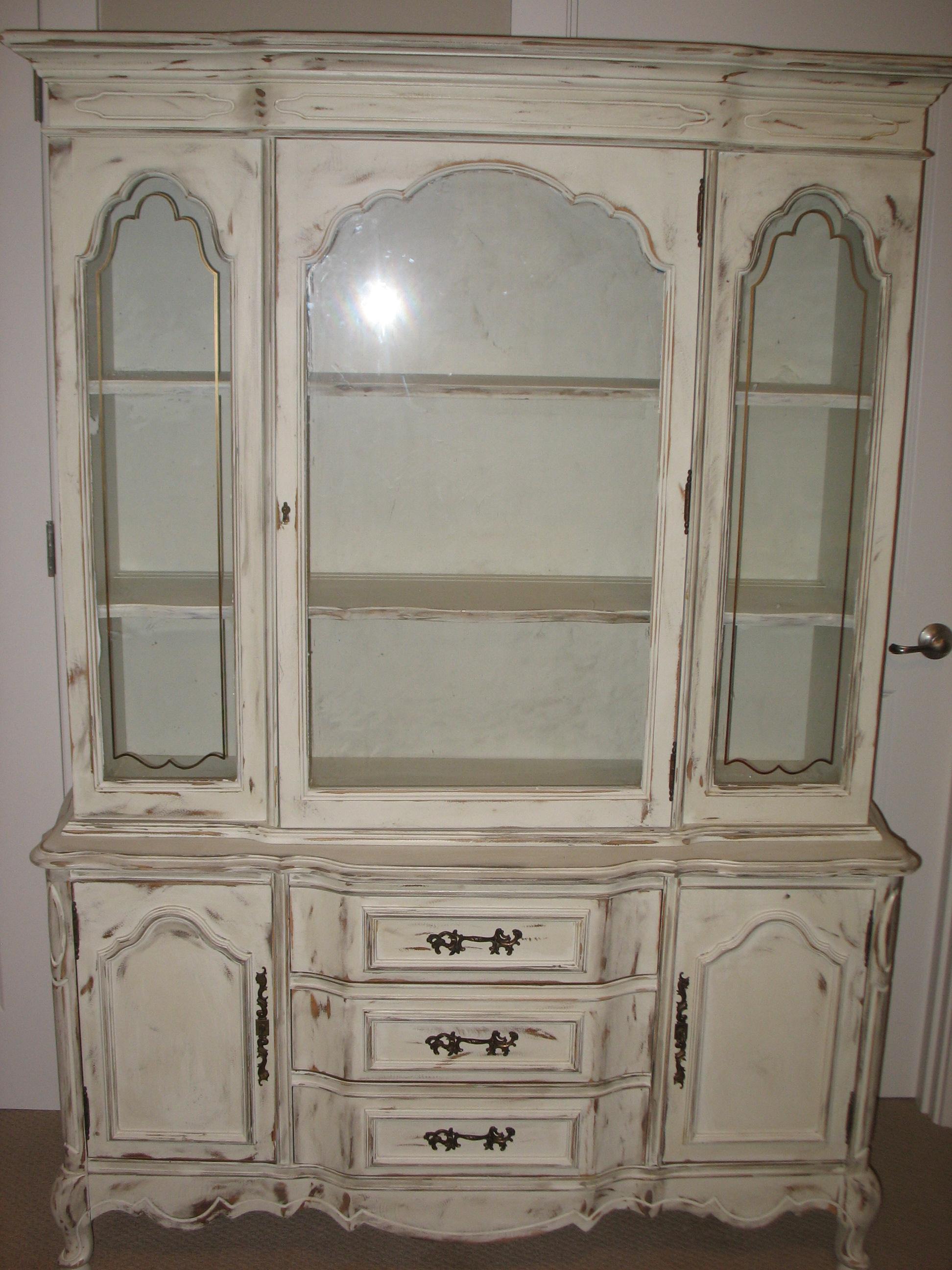 shabby chic china cabinet  Ladybirds Vintage