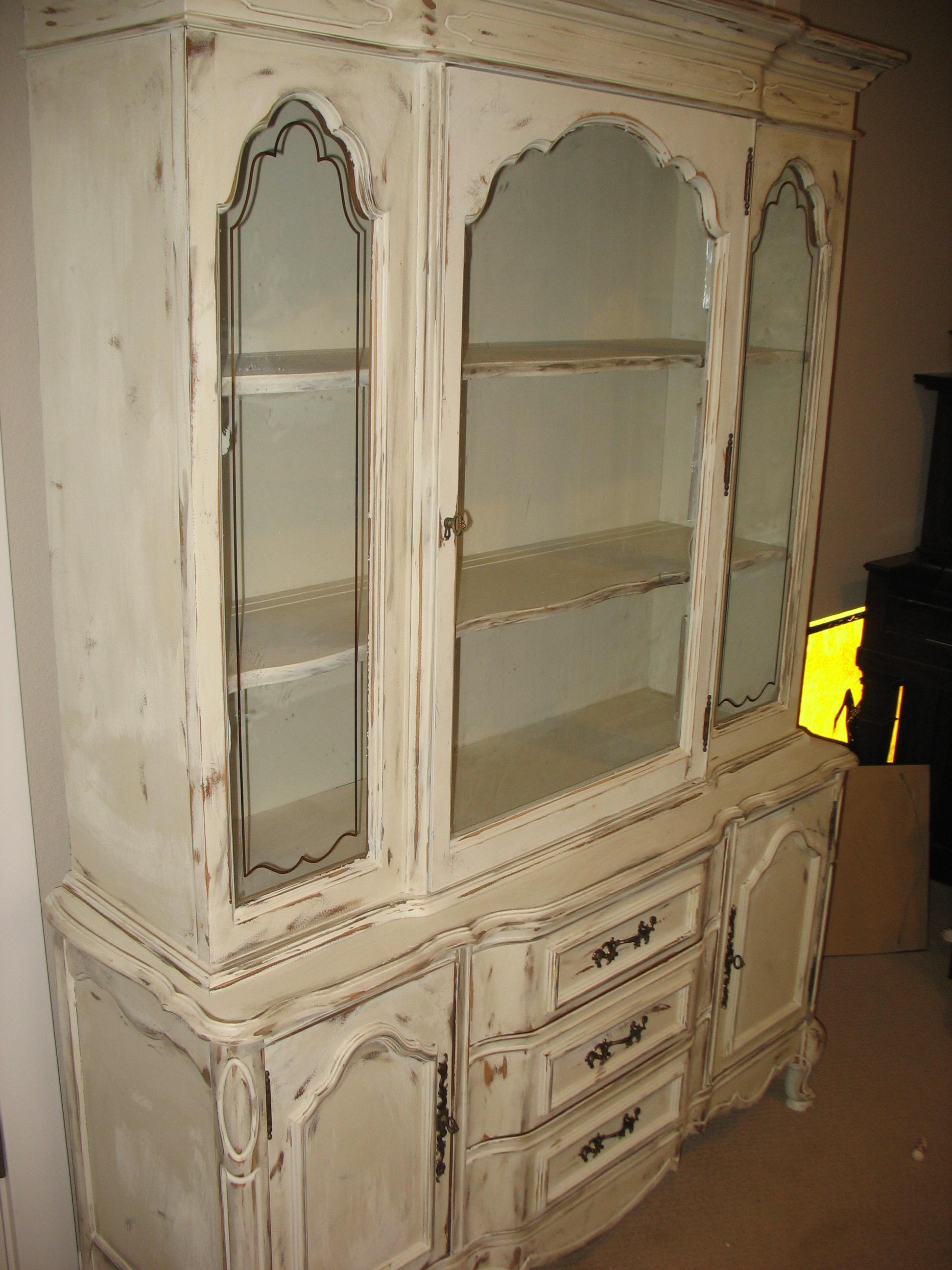 White China Cabinets