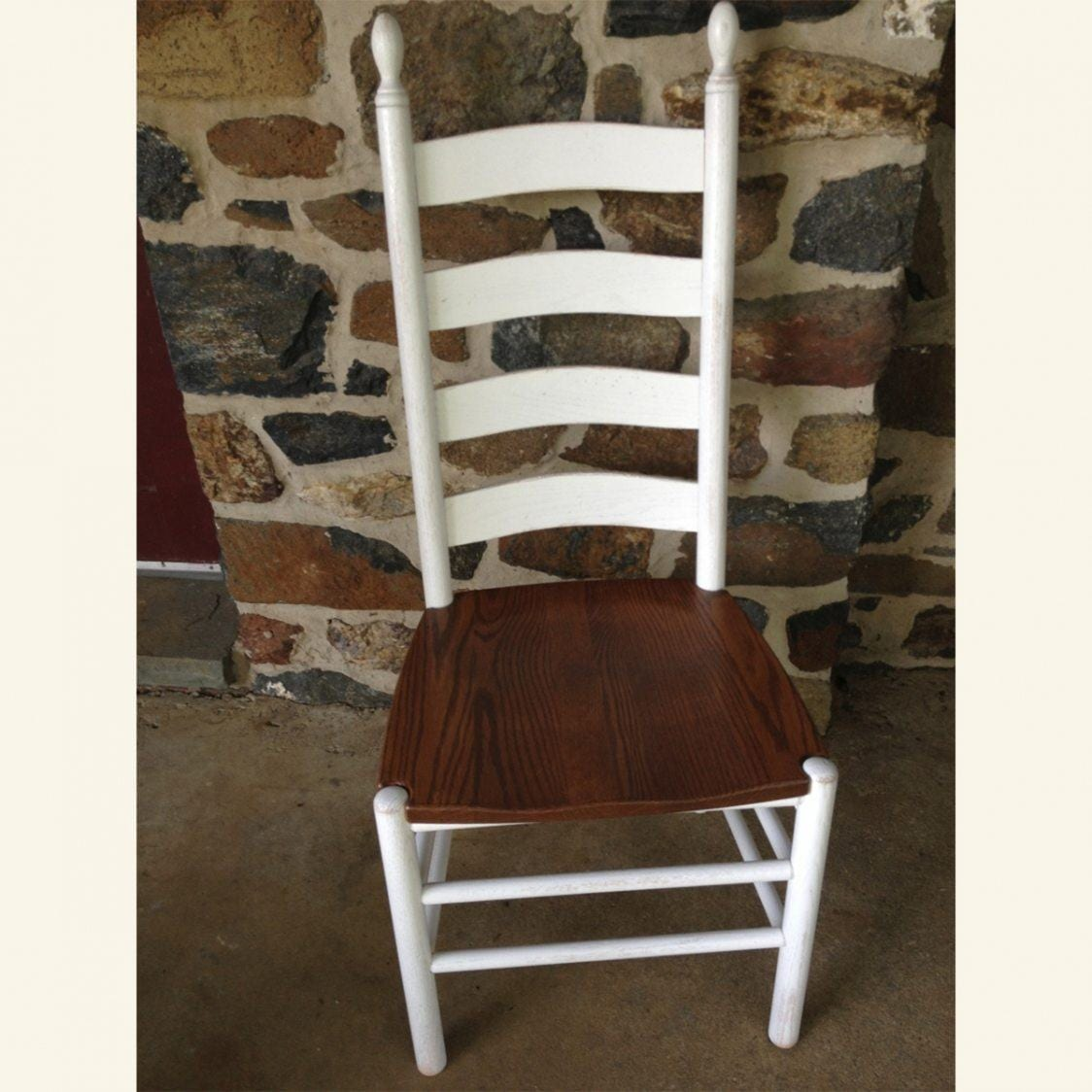 shaker ladder back chair folding set furniture from the barn