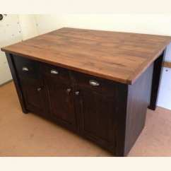 Square Kitchen Island Cutlery Furniture From The Barn