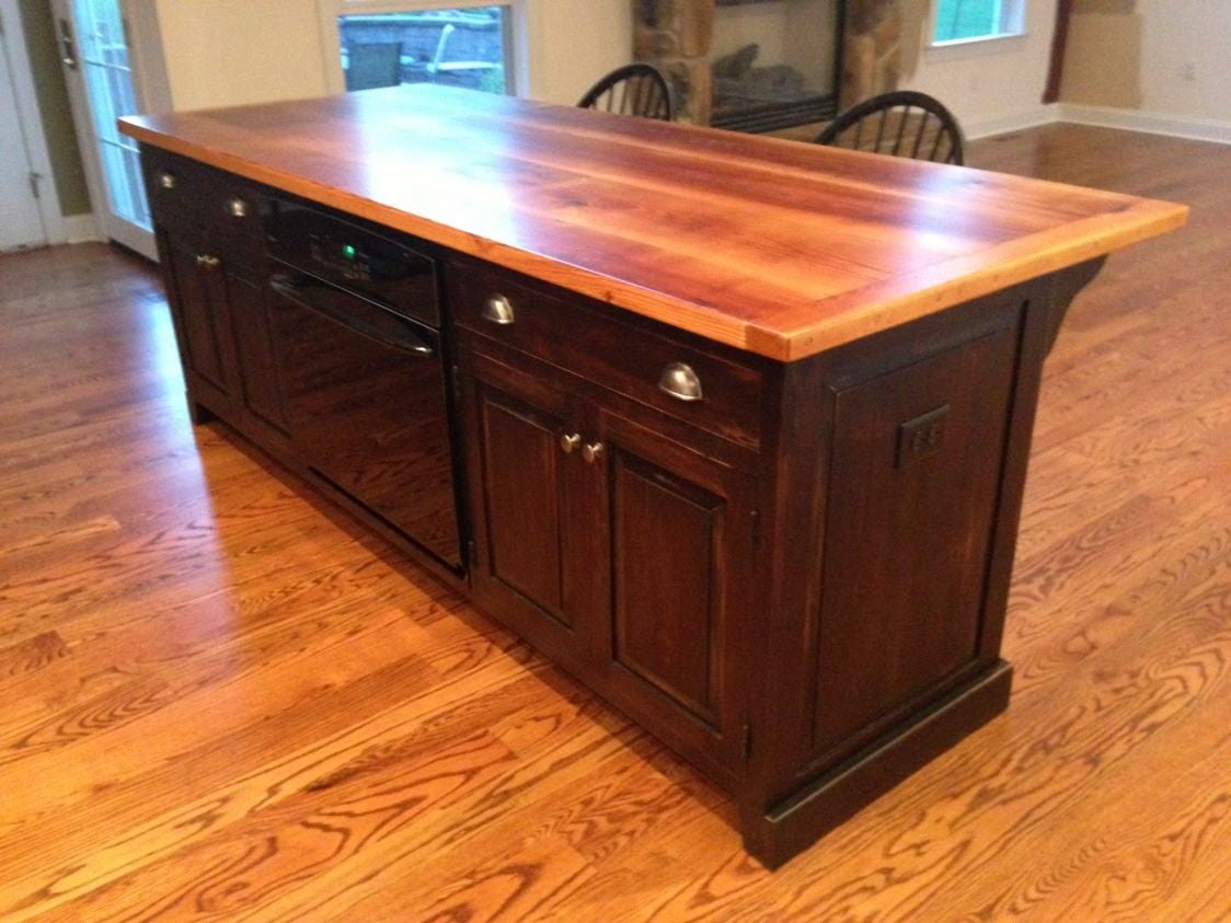 Builtin Oven Kitchen Island  Furniture From The Barn