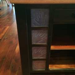 Unfinished Kitchen Cabinets Baby Gate For Butcher Block Island With Overhang | Furniture ...