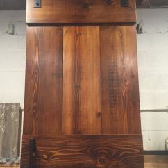 Unfinished Kitchen Chairs Steel Cabinets Farm Style Barn Door | Furniture From The