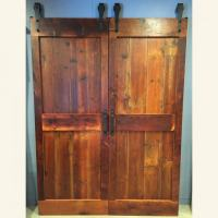 Ranch Style Barn Door | Furniture From The Barn