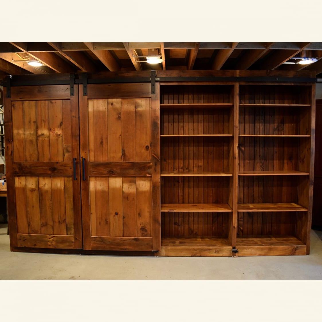 Sliding Barn Door Cabinets