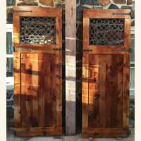 Custom Iron Barn Door | Furniture From The Barn