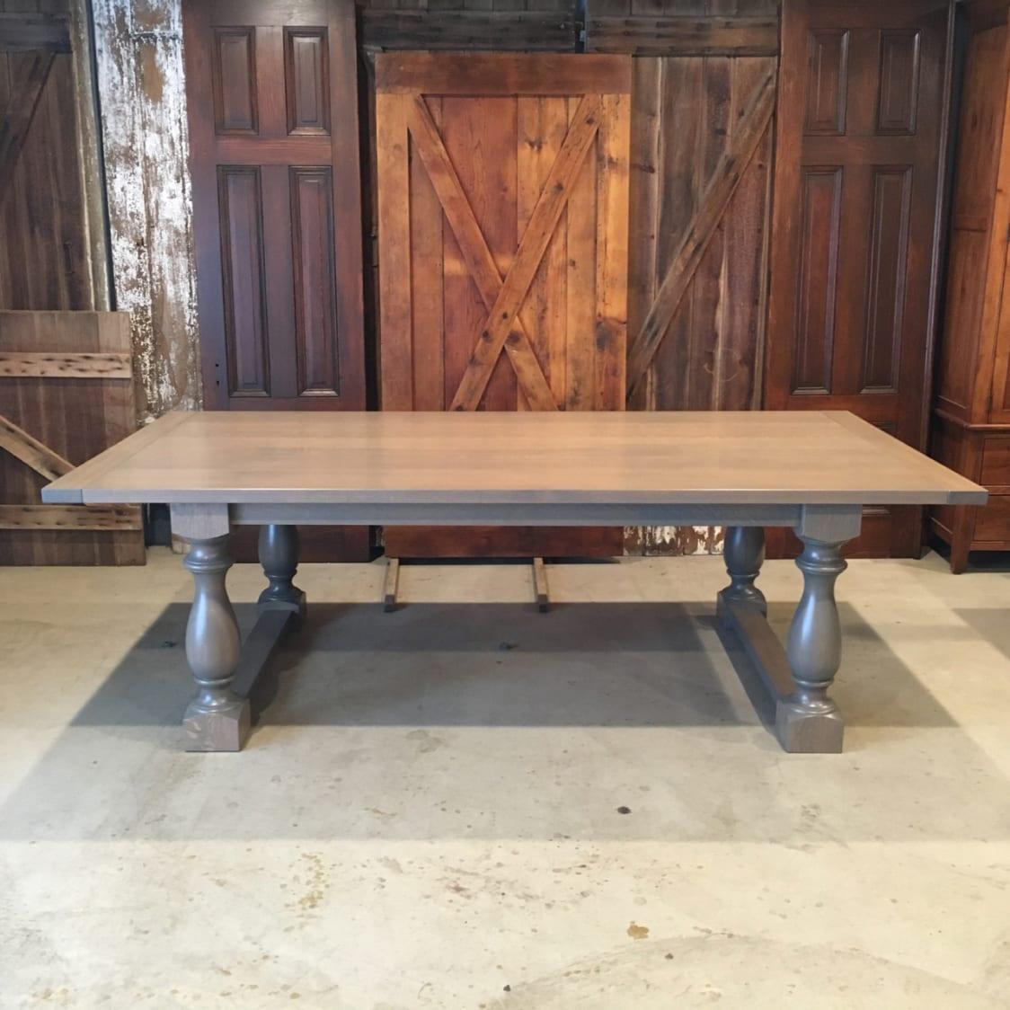 Baldwin Table In Quarter Sawn White Oak Furniture From