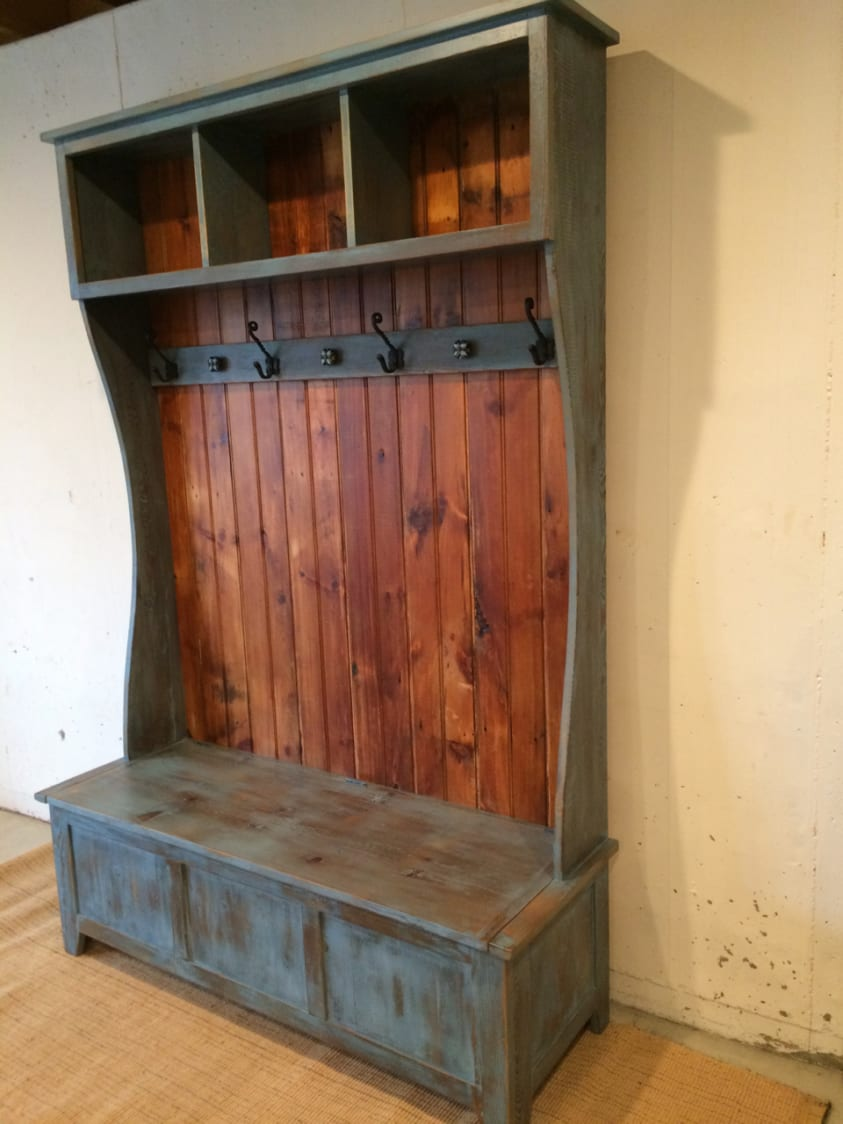 kitchen cabinets unfinished womens shoes hall tree with open cubbies at top | furniture from the barn