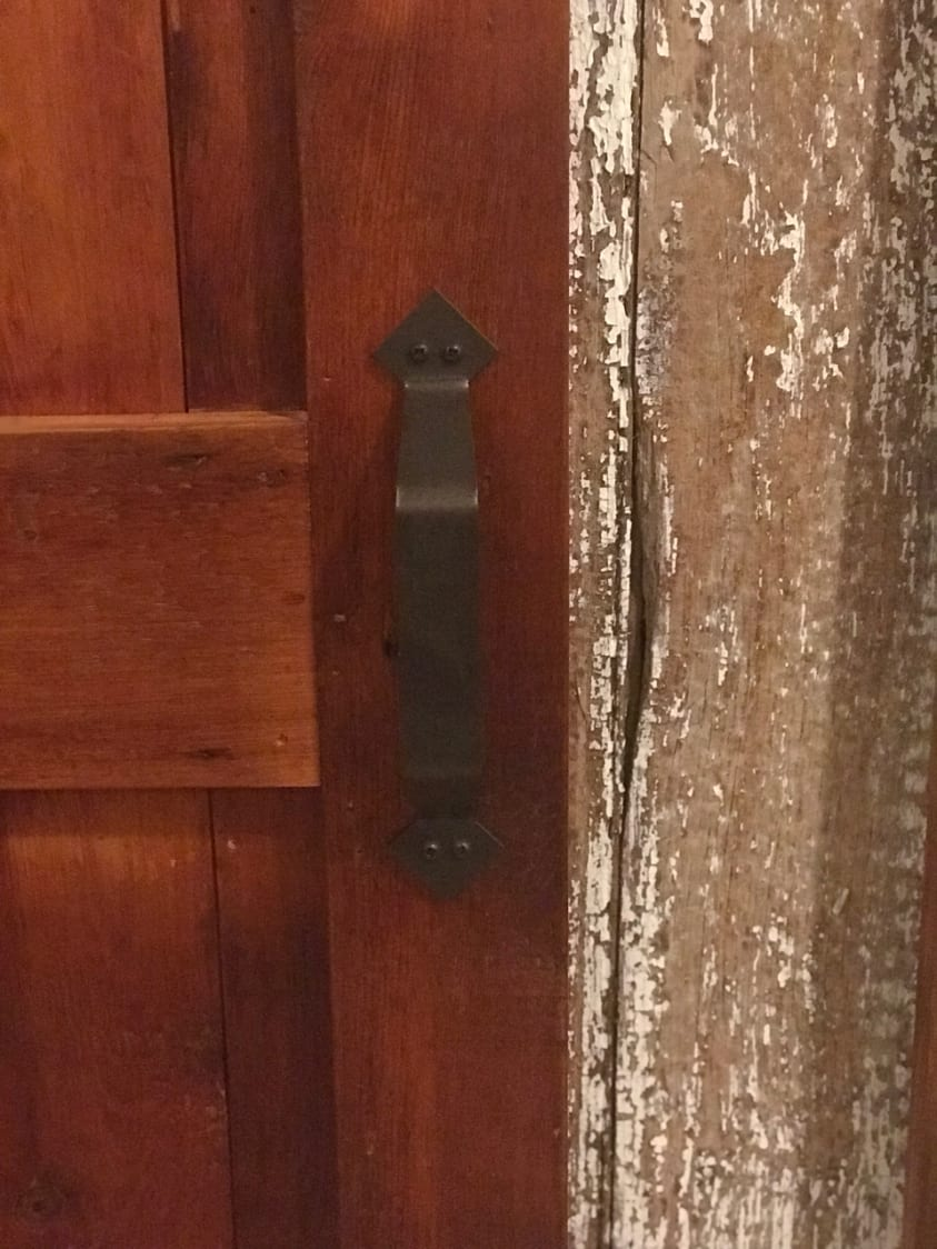 Ranch Style Barn Door  Furniture From The Barn