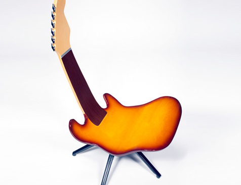 guitar shaped chair tempur pedic fashion chairs creating home decor furniturehomeoflisa this second recommended is the i believe designer must get design inspirations from and special designed