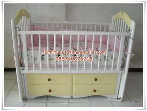 Tempat Tidur Bayi Model Laci tempat tidur bayi box bayi