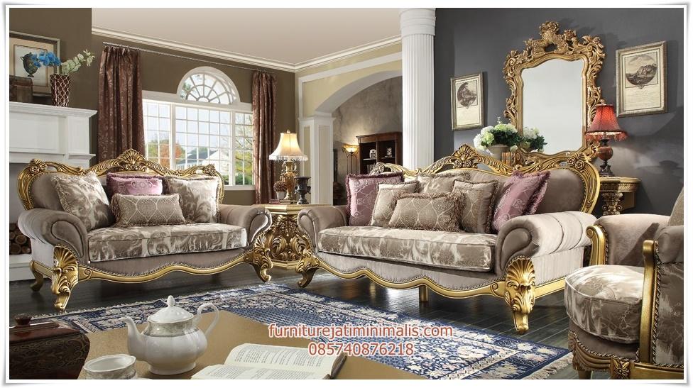 Sofa Ruang Tamu Klasik Super Mewah sofa tamu klasik sofa