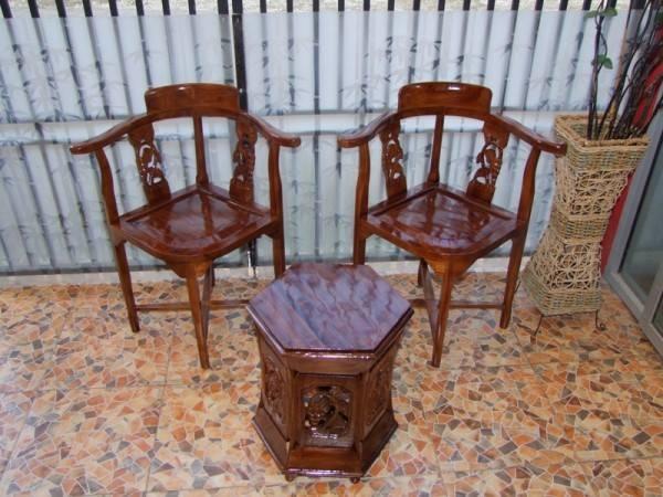 gambar kursi teras kayu jati minimalis  Toko Furniture
