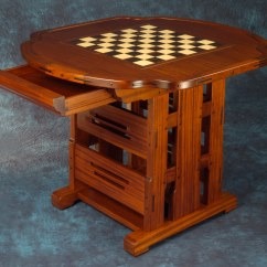 Chess Table And Chairs Green Wedding Chair Covers Living Room  Darrell Peart Furnituremaker