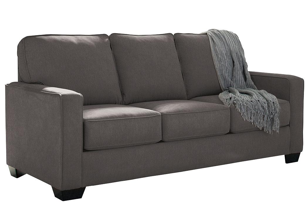 sleeper sofas chicago il donghia sofa carpet corner zeb charcoal full signature design by ashley