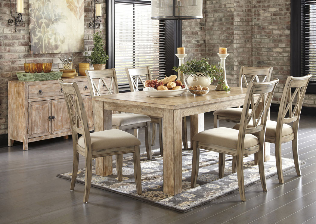 american furniture warehouse living room sets layout ideas uk dining table: antique white washed table