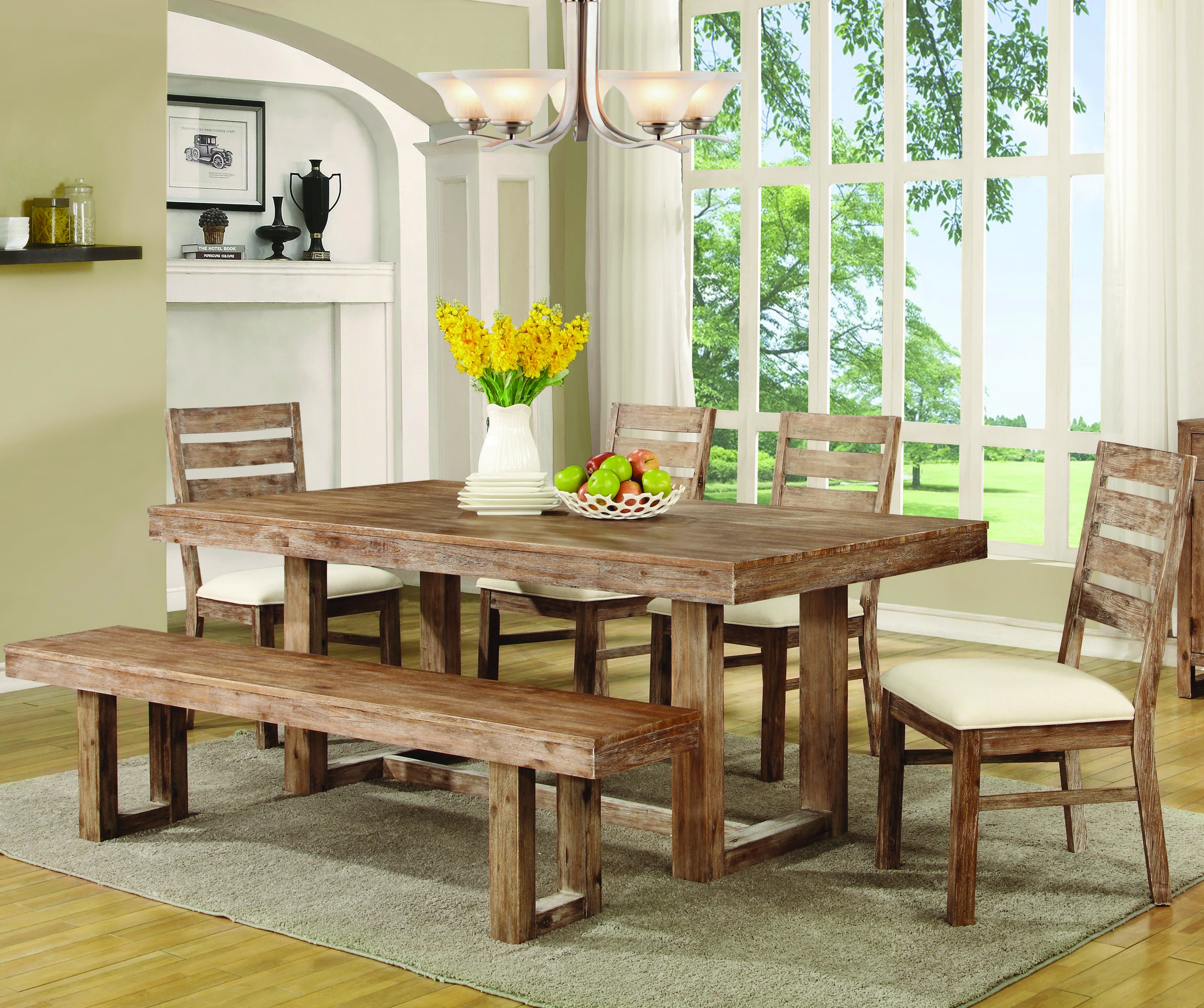 Sturdy Dining Room Chairs Coaster Elmwood 6pc Dining Room Set