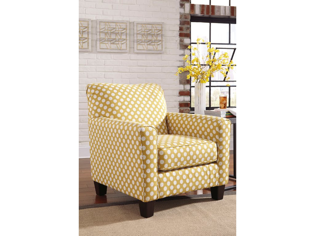 Yellow Living Room Chair Ashley Brindon Yellow Accent Chair Dallas Tx Living Room