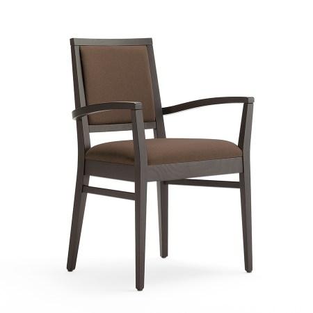 Sara 1P restaurant hotel arm chair