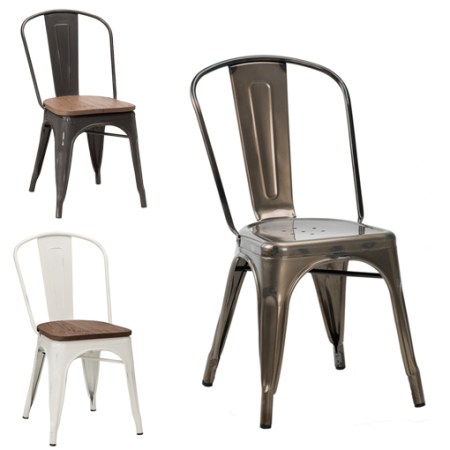french bistro side chair stock
