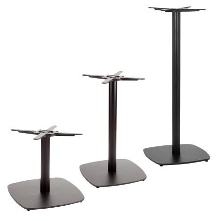 Curve table base