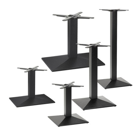 Pyramid table base collection